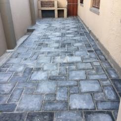 Cement colour paver