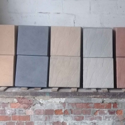 5 colors of paving