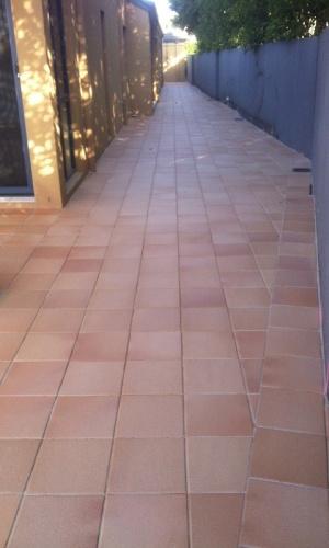 Terracata pavers